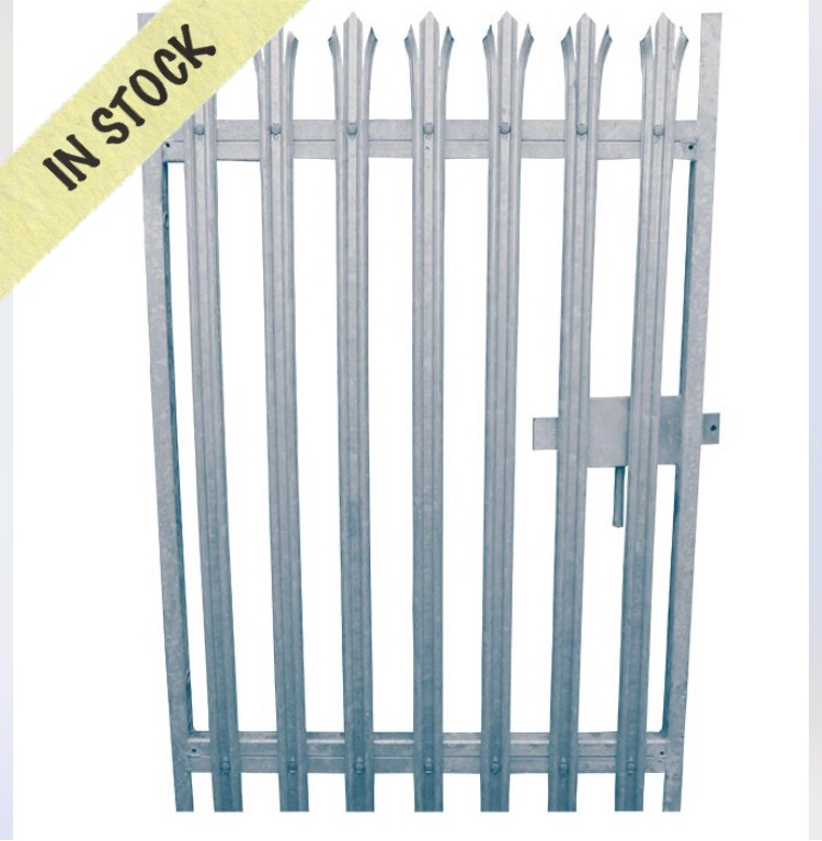 2.1 Metre High single leaf Gates – Welcome to All Steel Fencing